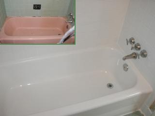 reglazing is becoming more and more appealing considering the cost of new cast iron tub u0026