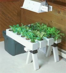 Build your own diy aeroponic system   My first encounter with a commercially-available hydroponic system was a garden professionally manufactured from 6 inch PVC pipe. Since then, I've experimented with several variations on that design, in search of less expensive ways to get started in hydroponics.