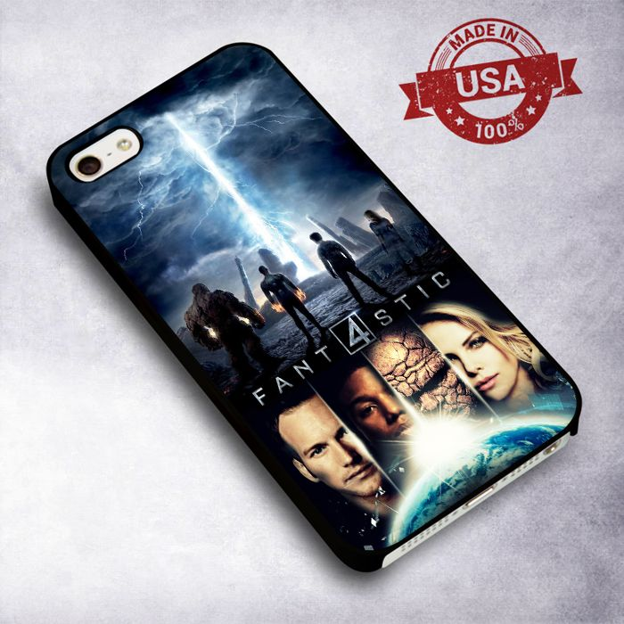 Awesome Fantastic Four Movie 2015 - For iPhone 4/ 4S/ 5/ 5S/ 5SE/ 5C/ 6/ 6S/ 6 PLUS/ 6S PLUS/ 7/ 7 PLUS Case And Samsung Galaxy Case