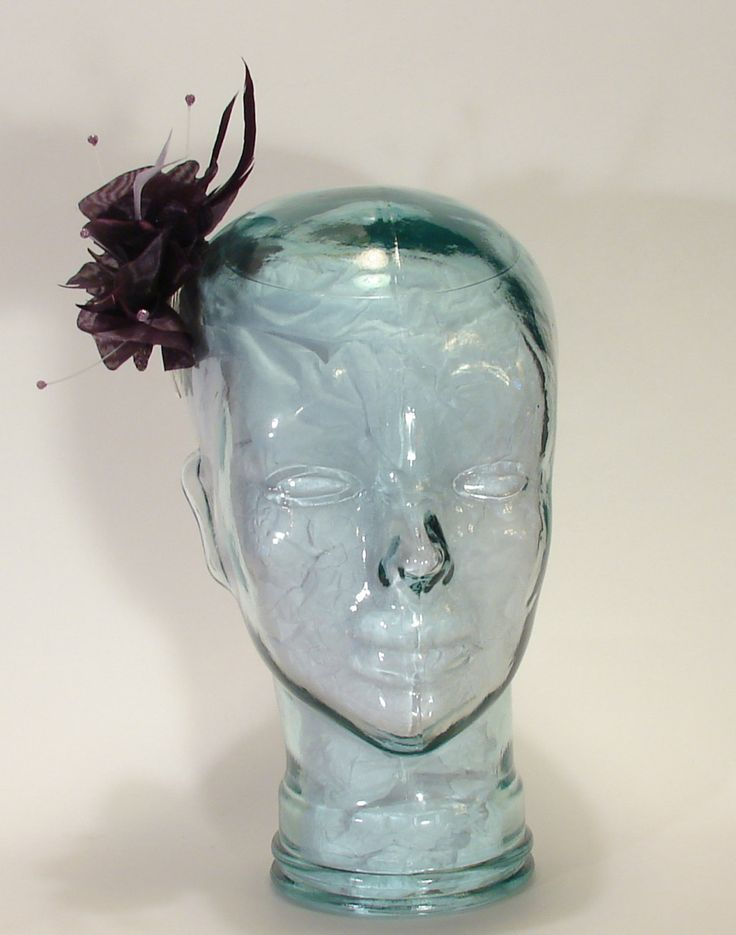 Organza Petal Hair comb Facinator Ladies Headpeice by littlehats on Etsy