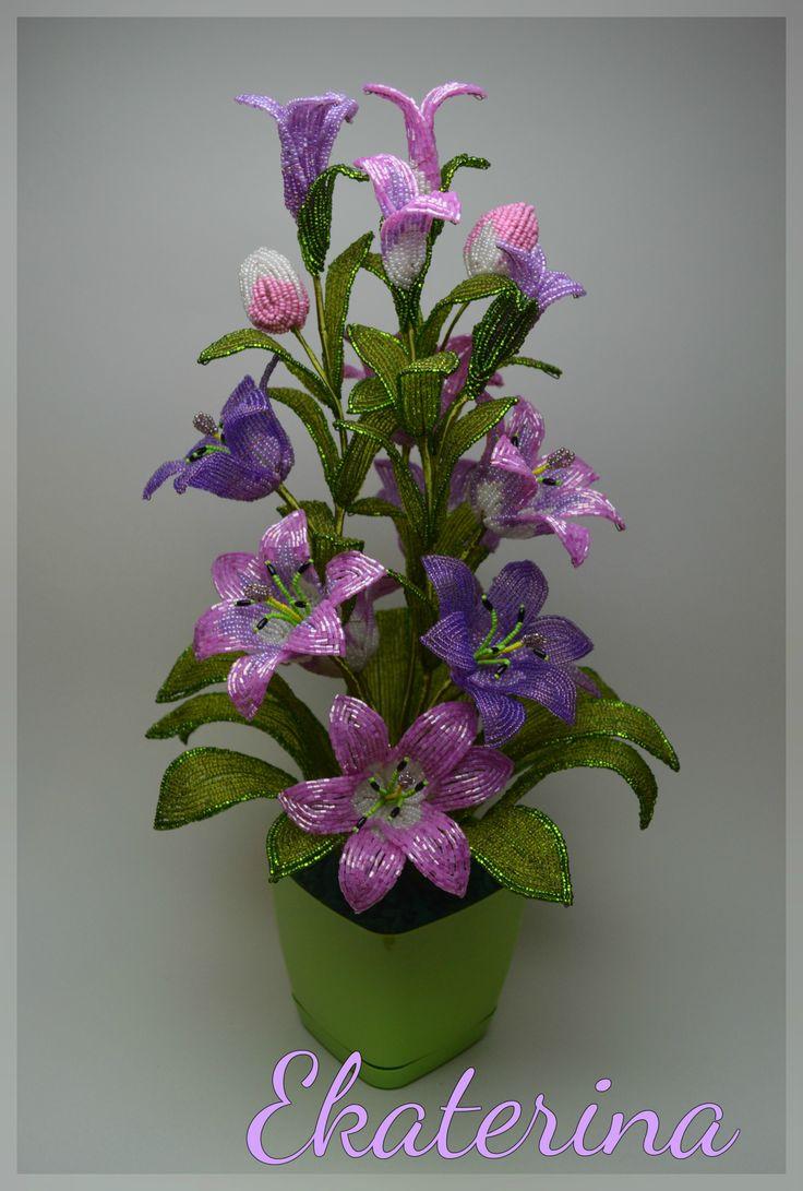 Цветочница-шикарные лилии