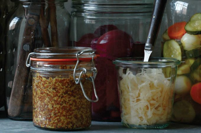 Pilsner Horseradish Mustard (Meerrittich Senf) from New German Cooking cookbook