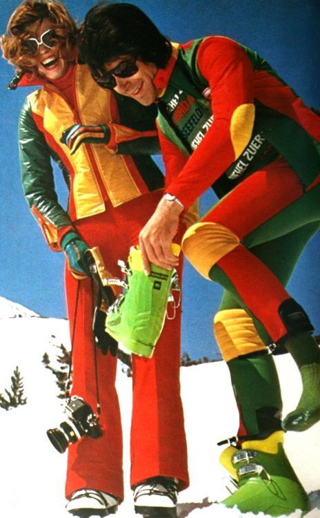Ski fashion in Burda International, Fall/Winter 1974