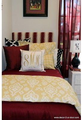 Florida State FSU Designer Teen & Dorm Bed in a bag.