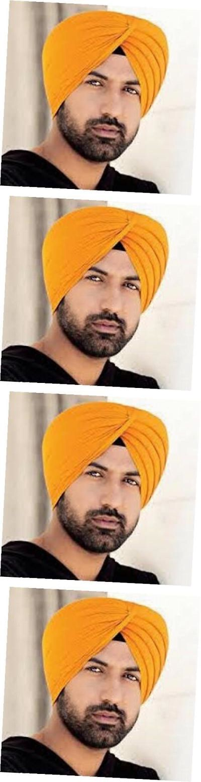 Other Cultural Clothing 155254: Sikh Turban Cotton Rubia Voile Patka Pagri Dastar Fabric Kesri(Saffron) 5Metre -> BUY IT NOW ONLY: $41.69 on eBay!