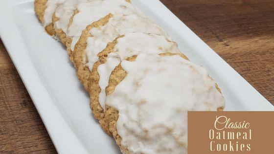 Classic Oatmeal Cookies Recipe - Mama Needs Cake
