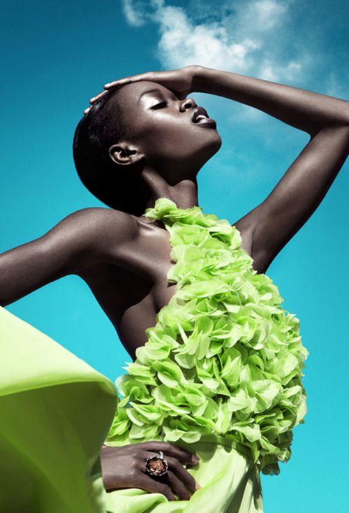 Simone by Franziska Nettel for Moga Magazine