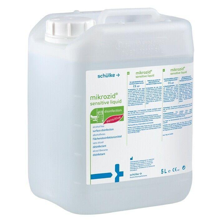 Mikrozid Sensitive Liquid Kanister 5 Liter Gebrauchsfertige