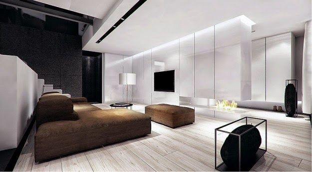 sala de tv minimalista pequeña  Buscar con Google