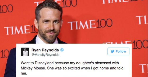 28 Ryan Reynolds Tweets About Parenting That Will Make You Laugh Out Loud