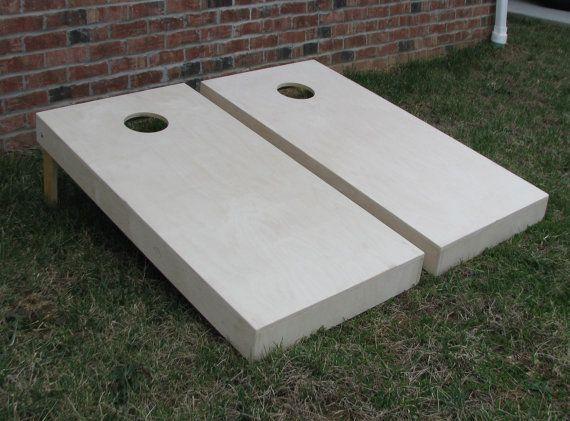 Non Painted Cornhole Boards | DIY Corn Hole Boards | Corn Toss | Bag Toss | Bean Bag | UnPainted | Plain | Non Warping