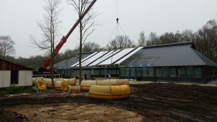 December 2013 gestart met de bouw van ons  overdekt binnen/buiten zwembad 'Poelsnip'. Foto update 4-4-2014. http://www.wedderbergen.nl/fotoalbum/album/album-22/bouw_poelsnip