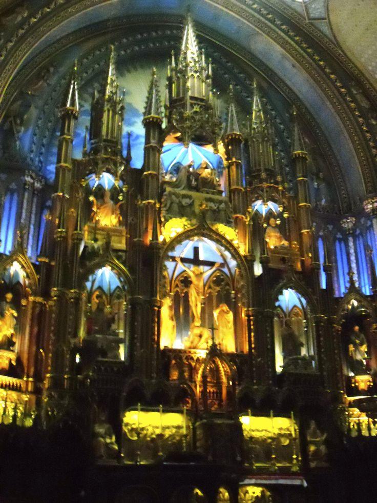 Cathédrale Notre-Dame, Montréal
