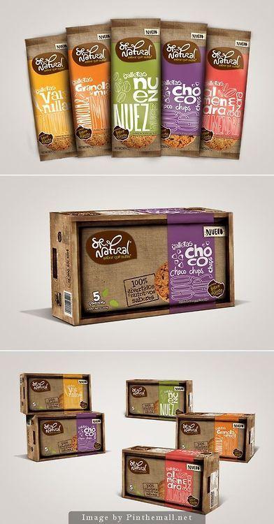 Choco cookies packaging
