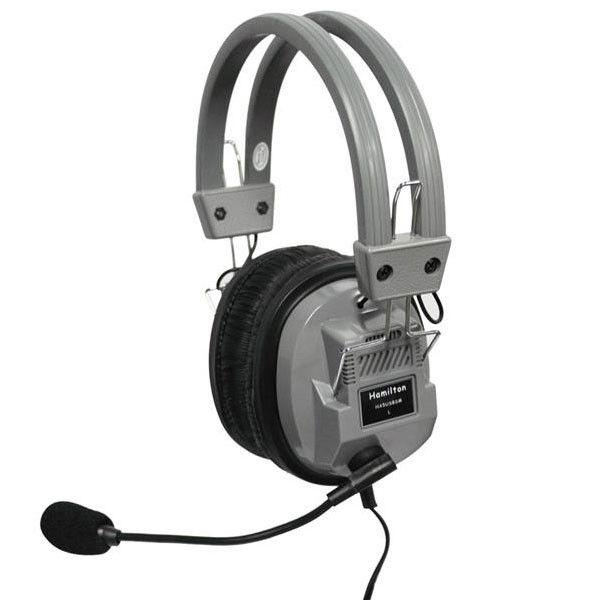 Deluxe USB Headphone w/ Boom Microphone