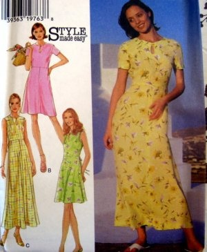 STYLE Sewing Pattern 2800- Misses and PLUS 10-22 Pull-on Pants, Long Top: Style Sewing, Patterns 2800, Sewing Patterns