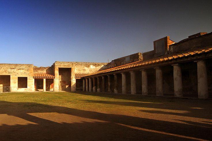 D.Signers | ¿Qué pasó en Pompeya? 44.Un recinto comercial en Regio VII.