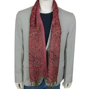 India Dress Neck Scarves for Men Wool Fabric (Apparel)  http://www.picter.org/?p=B005ZD21VS