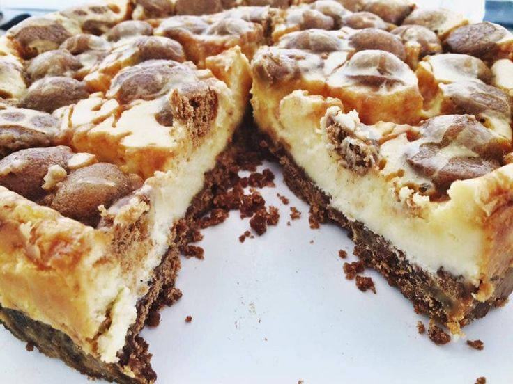 Cheesecake met kruidnoten en zoute karamel – om te smullen zo lekker!