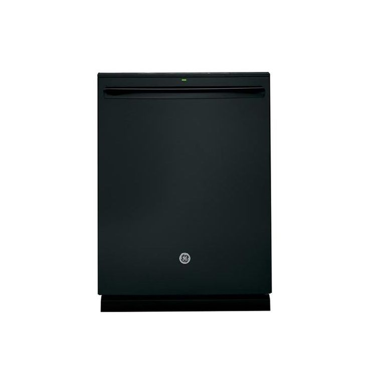 GE PDT720SSH 24 Inch Wide Dishwasher with Stainless Steel Interior and Hidden Co Black Dishwashers Dishwasher Built-In