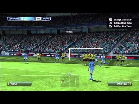 FIFA 13 Free Kick Tutorial + NEW Tactical Free Kicks!    For more FIFA 13 tutorials visit www,UltimateFIFA.com