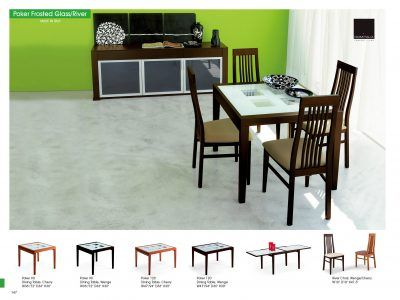 Dining Room Furniture Modern Sets Poker Table And River Chairs For Sale At