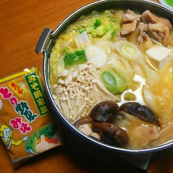 まつや とり野菜みそ鍋♪ | marikuruさんのお料理 ペコリ by Ameba ...