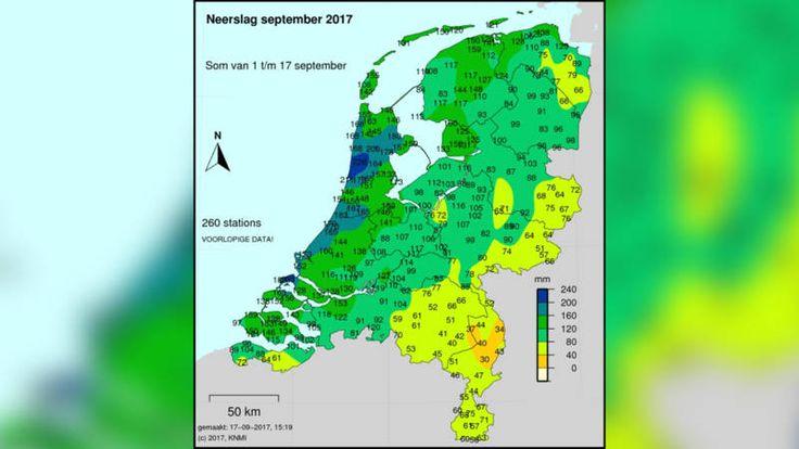Tien van dertig waterbergingen in Noord-Holland zijn volgelopen. Die zijn gebouwd in geval van extreme neerslag en daarvan viel er genoeg de afgelopen tijd.