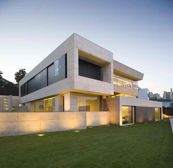 modern homes | Ultra modern homes designs exterior front views.