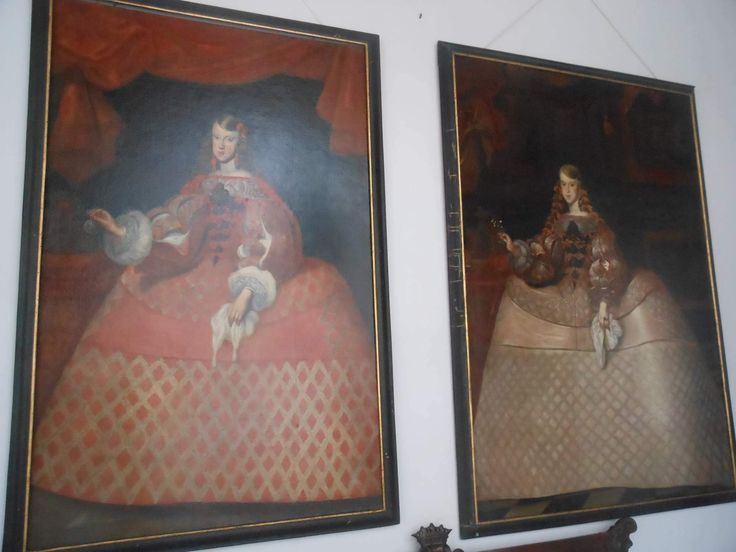Two paintings from Rychnov nad Kneznou of Infanta Margarita.
