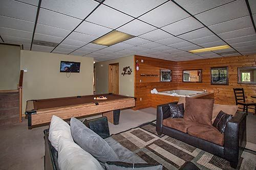 Valley View #1 in Gatlinburg, Tennessee: Game Room