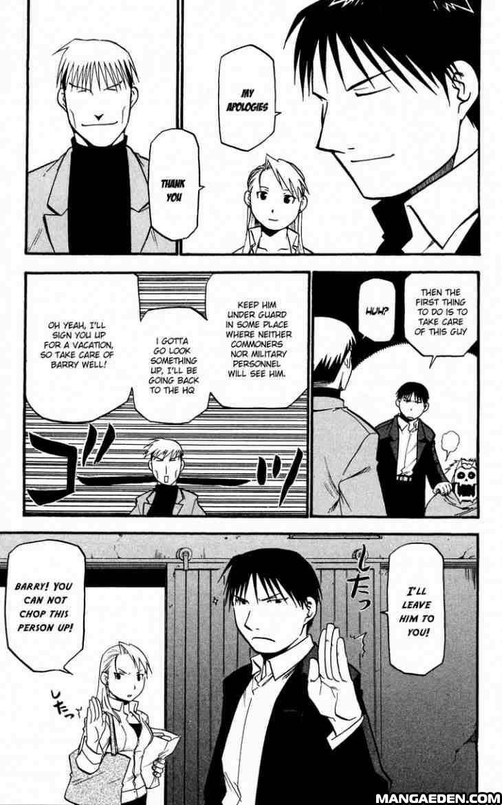 Manga Fullmetal Alchemist Chapter 31 Page 12 With Images
