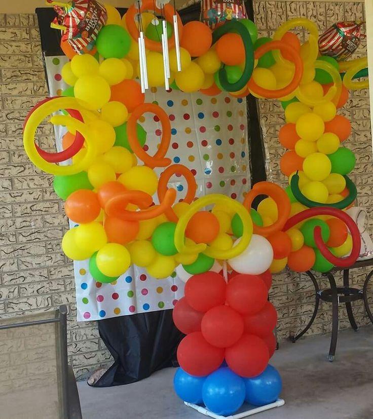 Circus balloon photo frame
