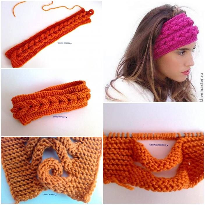 DIY Knitted Headband Tutorial | UsefulDIY.com Follow Us on Facebook ==> http://www.facebook.com/UsefulDiy