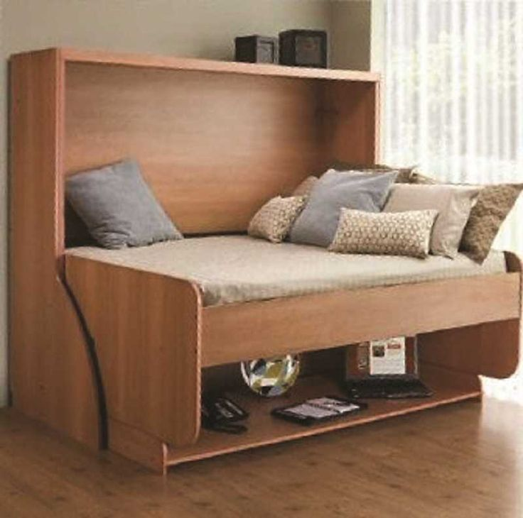 Beautiful Double Bed with Desk