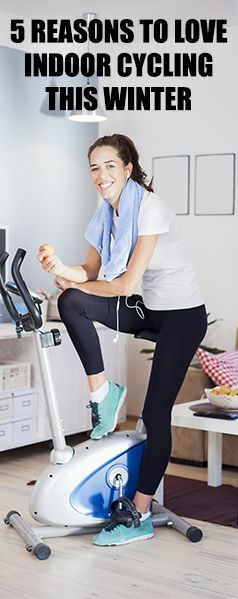 5 reasons to swap freezing rides for indoor fitness with an exercise bike
