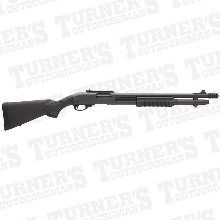 Remington 870 Express Tactical With Ghost Ring Sights 12 Gauge 18.5 Barrel Item # 81198