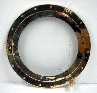 "9"""" - 21"""" Brass Ships Porthole Mirrors"