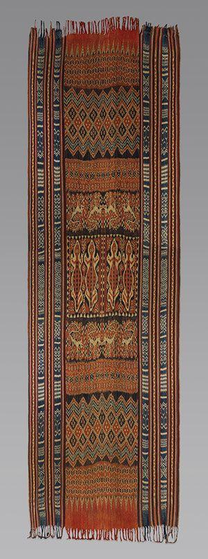 Ceremonial Hanging (Porilonjong) [Rongkong Toraja people, Sulawesi Island, Indonesia] (1990.335.19)   Heilbrunn Timeline of Art History   The Metropolitan Museum of Art