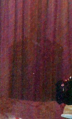 Carnival Cruise ghost pic - Close Up - an employee took this in an empty statesroom...or so he thought