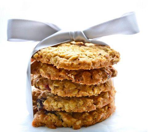 Oat flakes cookies