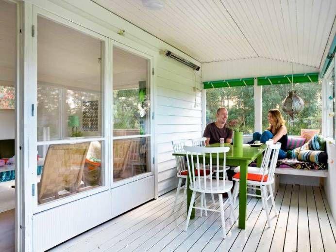 Sommardröm från 60-talet - veranda