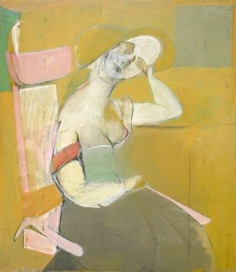Willem de Kooning, Woman Sitting, 1943