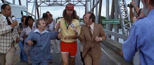 Forrest Gump's Running Route | Centives