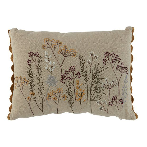 Buy Argos Home Embroidered Cushion At Argos Thousands Of Products For Same Day Delivery 3 95 Or Fast Store Collecti Embroidered Cushions Cushions Argos Home