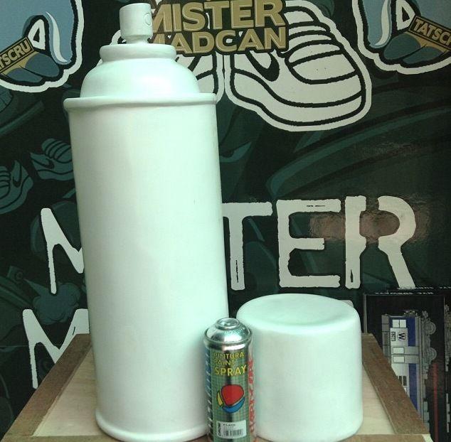 "spray paint Can 25"" Jumbo handmade resin , ready to be customize spray paint art #graffitiart"