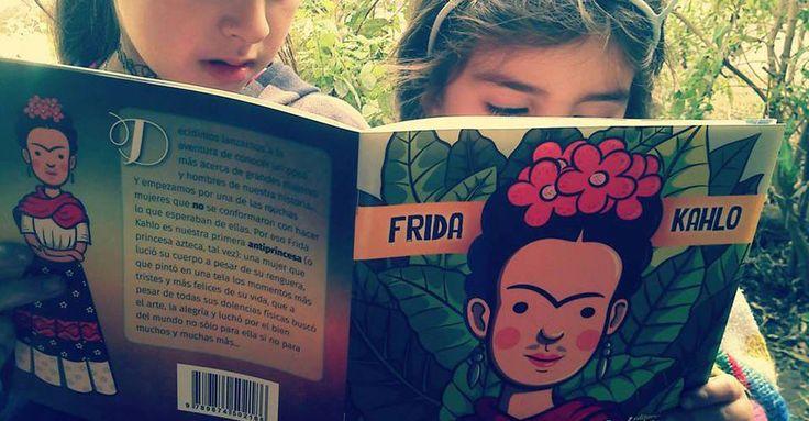 Mostrar ejemplos de mujeres reales, líderes, creativas, rupturistas y romper el estereotipo sexista común de las princesas de Disney, es lo que busca esta colección biográfica ilustrada para niños, que tiene como protagonistas a mujeres latinoamericanas como Violeta Parra y Frida Kahlo.