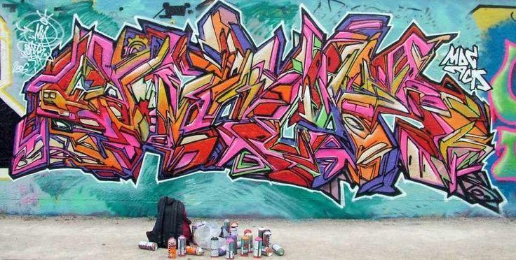 Best graffiti freestyle by cell2 graffiti art murals best for Best mural artist