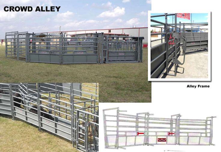 Ww crowd alleys adjustable for cattle 3 adjustable width - Buffalo craigslist farm and garden ...