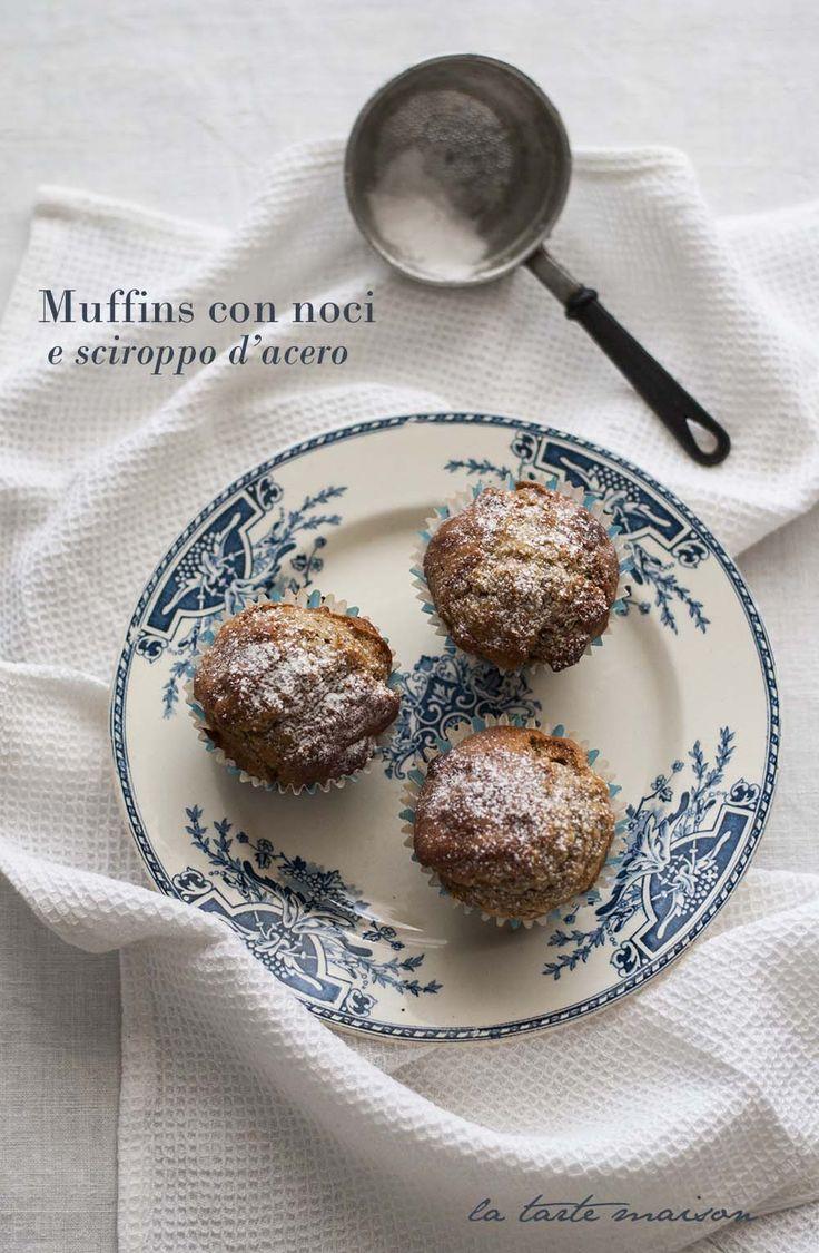 muffins noci e sciroppo d'acero by La tarte maison
